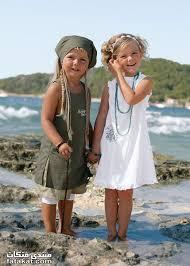 أزياء أطفال بلون التفاح ملابس أطفال باللون الأخضر ودرجاته ملابس رائعة