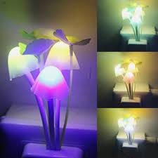 Outdoor Mushroom Lights amazon com itimo color changing nursery mushroom night light plug