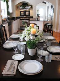 Dining Room Table Decor Ideas by Kitchen Table Centerpiece Design Ideas Hgtv Pictures Hgtv