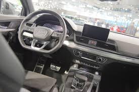 Audi Q5 Interior - 2017 audi q5 interior at 2017 vienna auto show indian autos blog