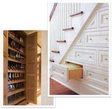 Shoe Storage Furniture by Staircase Drawers And Shoe Storage Cabinet Spectrum Organizing