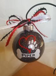 dog ornament personalized pet custom dog ornament