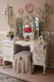 Vanity Dresser Exquisite Furniture For Bedroom Furnishing Decoration Using White