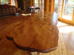 Large Dining Room Tables by Rustic Dining Table Live Edge Wood Slabs