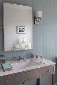 Backsplash Bathroom Ideas Colors Mabley Handler Bathrooms Blue Glass Tiles Backsplash