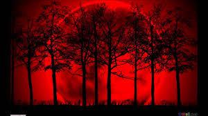 scary moon background terror battle music bleeding moon youtube