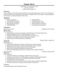 Therapist Resume Examples by Esthetician Resume Examples Research Optical Engineer Cover