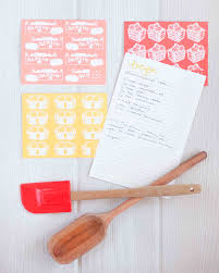 10 recipe cards that are pretty enough to become bridal shower