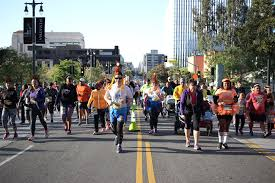 Grand Park Los Angeles Map by Course Maps Turkey Trot Los Angeles