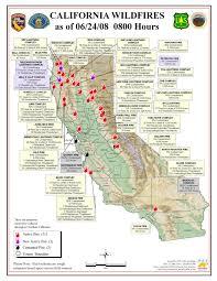 California Maps California Brush Fire Map California Map