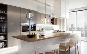 kitchen modern kitchen with gray kitchen cabinet and white island