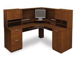 Ikea Computer Desk With Hutch by Computer Desk Blueprints 25 Bestar Elite Tuscany Brown Corner
