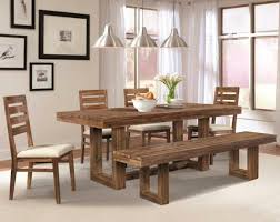 Dining Room Centerpieces by Rustic Dining Room Table Plans Shiny Brown Eased Edge Profile