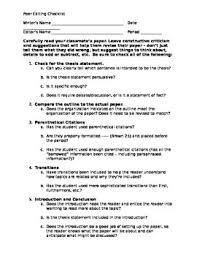 Checklist for research paper apa Original Papers umfcv ro