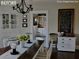 How To Decorate Your Dining Room Table Our Vintage Home Love Dining Room Table