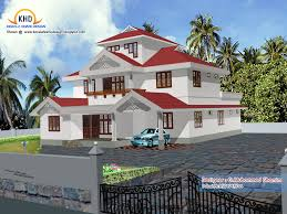 latest beautiful home elevation designs in 3d kerala home design