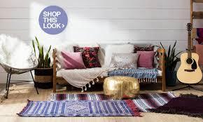 Living Room Interior Wall Design Boho Chic Furniture U0026 Decor Ideas You U0027ll Love Overstock Com