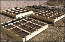 Planning A Raised Bed Vegetable Garden by A Square Foot Gardening Layout With Great Tips For Garden Designs