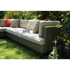Lowes Patio Furniture Sets by Shop Ae Outdoor 4 Piece Aluminum Cushioned Patio Sectional