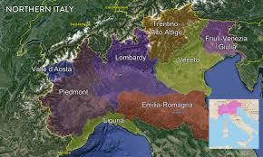 Map Of Italy Regions by Map Italian Wine Regions U2014 Tenzing