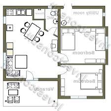 Simple House Floor Plan Design Smart Home Design Plans Adorable Design Rectangular Home Plans Bed