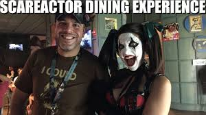 howl o scream vs halloween horror nights hhn26 scareactor dining experience with chance at halloween horror