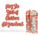 สกิน Glitter Hello Christmas คริสต์มาส