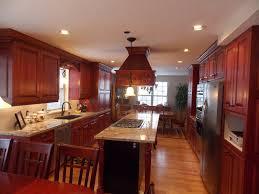 Kitchen Backsplash Cherry Cabinets by Kitchen Backsplash Ideas With Cherry Cabinets Fence Garage Style