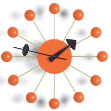 george nelson ball clock 4755 howard miller clock company