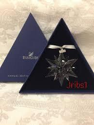 swarovski christmas annual ornament 2005 star rockefeller center