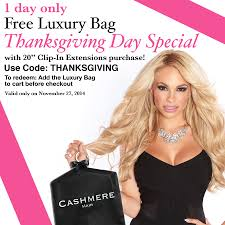 thanksgiving day sale thanksgiving day special free gift with purchase u2013 cashmere hair