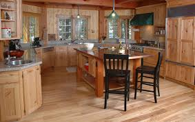 Flooring For Kitchen by Interior Wooden Types Of Kitchen Flooring With Grey Granite