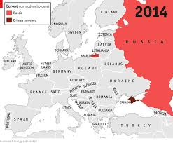 Map Of Russia And Europe by Daily Chart Hammer And Scythe The Economist