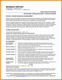 Human Resources Resume Samples by Human Resources Resume Examples