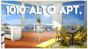 sims 4 apartment build 1010 alto apt youtube