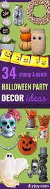 halloween party theme ideas 34 cheap and quick halloween party decor ideas diy joy