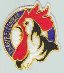 insigne de la SPA 48 (coq chantant)