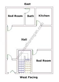 House Layout Design As Per Vastu West Facing House Plan 1 Vasthurengan Com