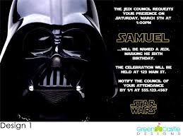 star wars birthday invitations u2013 frenchkitten net