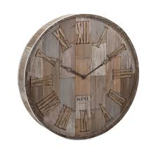 wine clock co wall clock