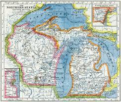 Detroit Michigan Map by Wisconsin Michigan Map Michigan Map