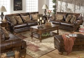 Chocolate Living Room Furniture by Living Room Wonderful Chocolate Brown Microfiber Living Room Set