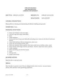 Janitor Sample Resume by Hvac And Refrigeration Resume Example Choose Janitor Resume