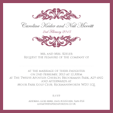 English Invitation Card Wedding Invitation Reception Invitation Ideas