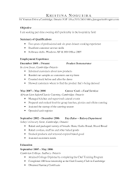 Resume Sample For Ojt Pdf by Culinary Arts Resume Sample Free Resume Example And Writing Download