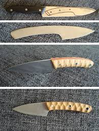 kitchen knife ii made a small kitchen knife out of the blade of a