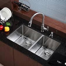 Kraus KHU  Inch Undermount  Double Bowl  Gauge - Kitchen sink images