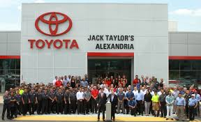 dealer toyota new and used car dealer alexandria jack taylor u0027s alexandria toyota