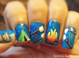 these nails are so incredibly adorable what great imagination and