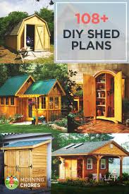 Blueprints To Build A House by 108 Diy Shed Plans With Detailed Step By Step Tutorials Free